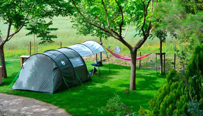 Parcel·les per acampar