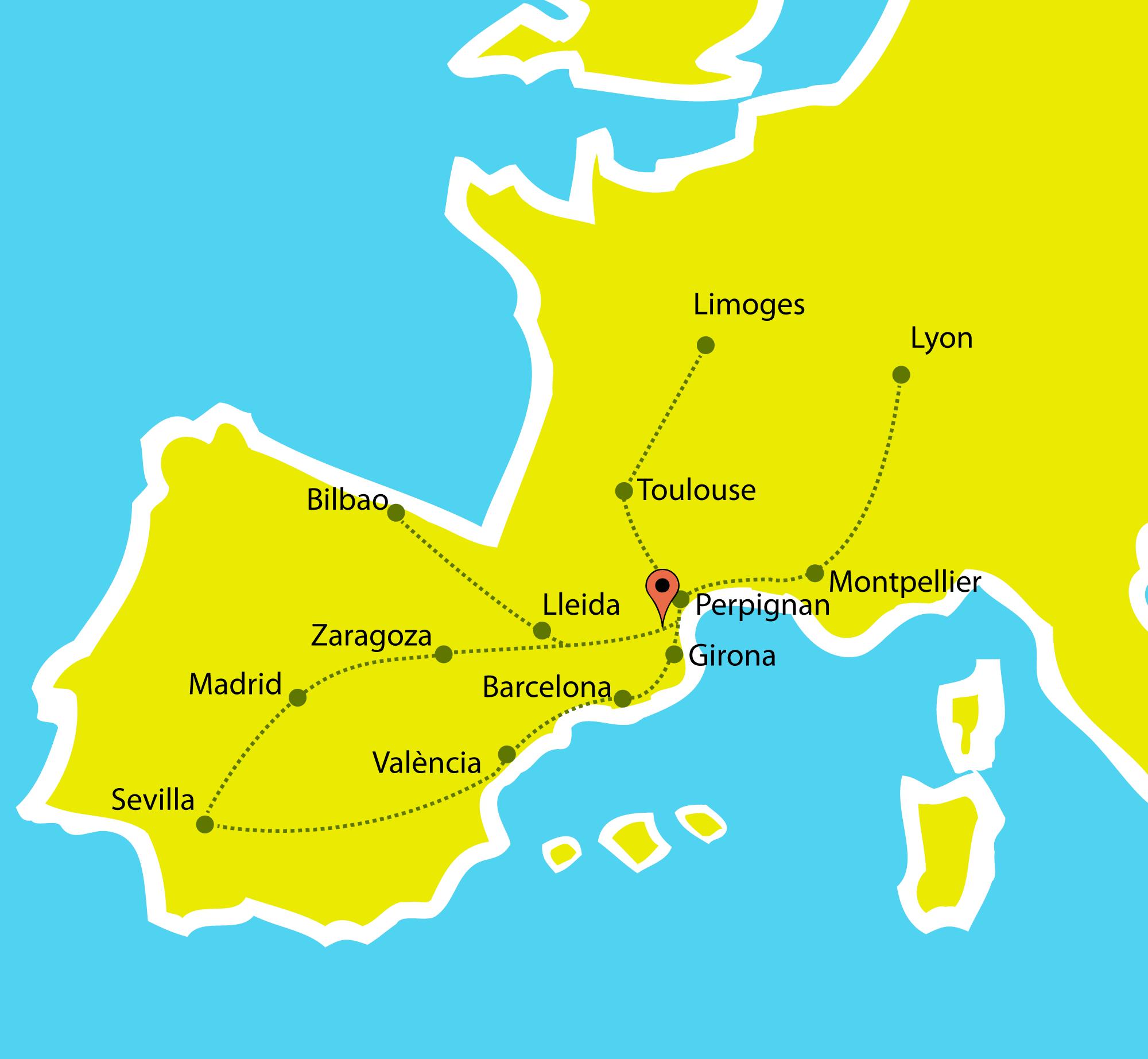 plànol europa